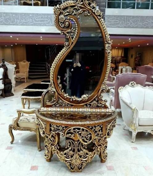 آینه کنسول اشکی