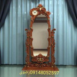 آینه قدی طرح ساعت